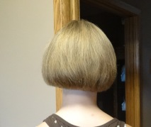 Back view of haircut by JT Techniques.