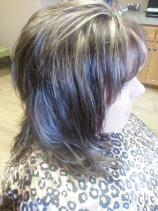 Highlights and haircut at JT Techniques New Prague