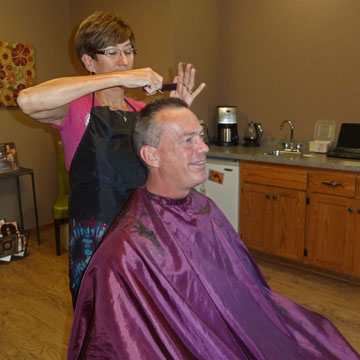 Men's haircuts at JT Techniques in New Prague