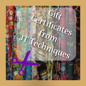 Gift certificates from JT Techniques, New Prague